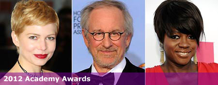 (L-R) Michelle Williams (AP Photo/Joel Ryan)/Steven Spielberg (AP Photo/Mark J. Terrill)/Viola Davis (AP Photo/Dan Steinberg)