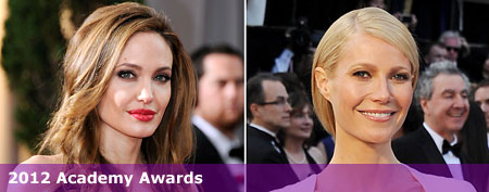 (L-R) Angelina Jolie (Ethan Miller/Getty Images); Gwyneth Paltrow (Michael Buckner/Getty Images)