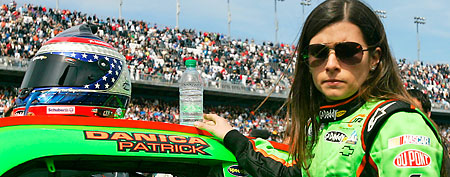 NASCAR Nationwide Series driver Danica Patrick. (Jerry Lai-US PRESSWIRE)