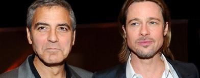 Clooney y Pitt apoyan matrimonio gay