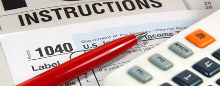 Tax forms (ThinkStock)