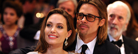 Angelina Jolie and Brad Pitt (Pascal Le Segretain/Getty Images)