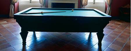 Pool table (ThinkStock)