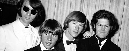 The Monkees pose at the 19th Annual Primetime Emmy Awards  (AP Photo)