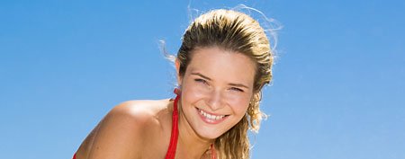 Woman on the beach (Thinkstock)