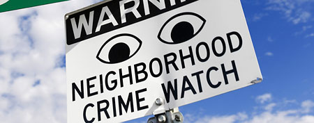 Neighborhood Watch sign (Thinkstock)