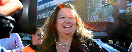 Gina Rinehart, chairman of Hancock Prospecting. (Paul Kane/Getty Images)