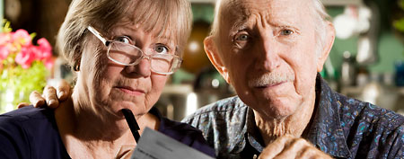 Unhappy retirees (ThinkStock)