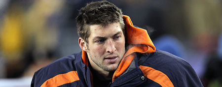 NFL quarterback Tim Tebow. (Getty Images)