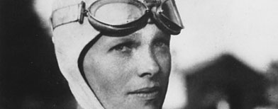 Amelia Earhart. (AP)