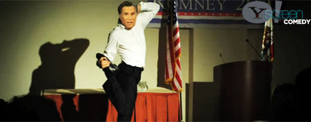 'Secret footage' of crazy Romney talent (Hackerazzi on Yahoo!)