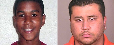George Zimmerman and Florida teen Trayvon Martin. (ABC News)