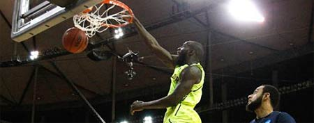Baylor's Quincy Acy (Y! Sports screengrab)