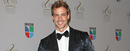 William Levy poses in the press room at Univision's 2010 Premio Lo Nuestro a La Musica Latina Awards at American Airlines Arena on February 18, 2010 in Miami, Florida. (Alexander Tamargo/Getty Images)