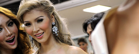 Transgender beauty queen Jenna Talackova (AFP)