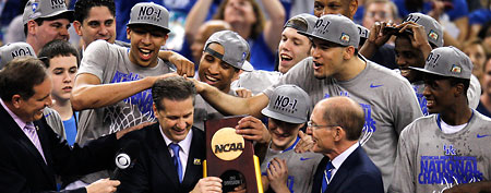 Kentucky wins national title (Getty Images)