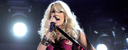 Carrie Underwood. (Kevin Winter/ACMA2012/Getty Images)