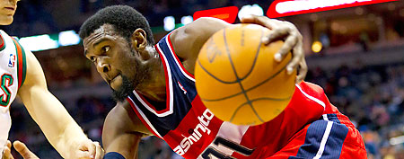 Chris Singleton of the Washington Wizards (Jeff Hanisch-US PRESSWIRE)