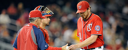 John Lannan's historic MLB demotion before start of season (Getty Images)