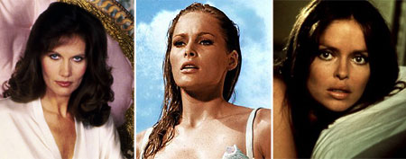 Bond Girls: Then and Now (MGM/ Courtesy: Everett Collection.