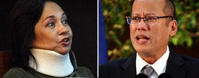 Arroyo praises Aquino this time