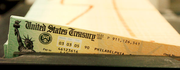 Social Security checks won't be in the mail (AP image)