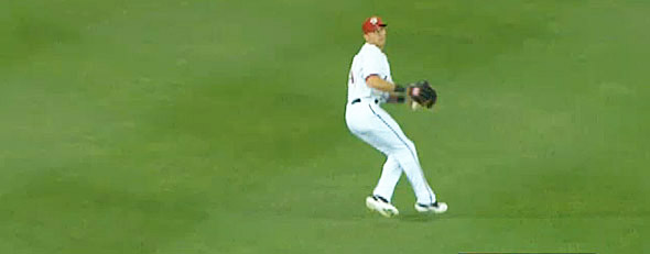 Rick Ankiel of the Washington Nationals (Y! Sports screengrab)