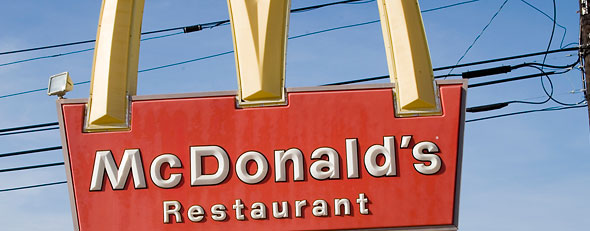 McDonald's employee arrested for spitting in iced tea (Corbis)