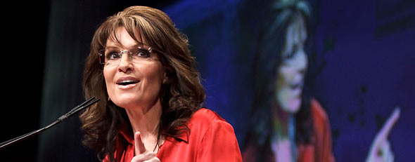 Sarah Palin at CPAC (AP)