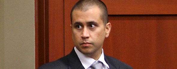 George Zimmerman arrives for a bond hearing in Sanford, Florida (Reuters)
