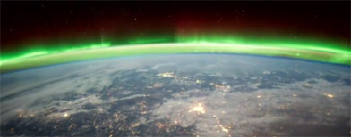 صورة للكرة الأرضية من الفيلم