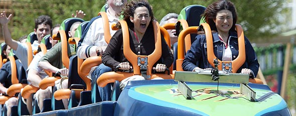 Six Flags Great Adventure's Kingda Ka roller coaster, in Jackson, N.J. (AP)