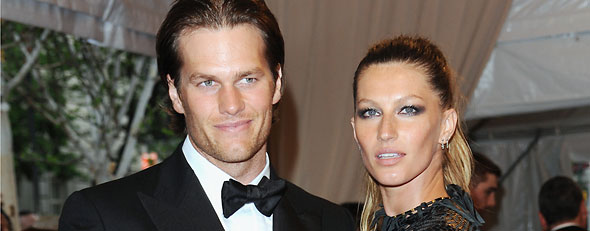Star couples in which the woman earns more. Here, Tom Brady and Gisele Bundchen arrive at the Metropolitan Museum of Art Costume Institute gala, Monday, May 3, 2010 in New York. (AP Photo/Evan Agostini)