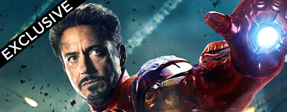 Robert Downey Jr. as Iron Man in 'The Avengers' (Marvel)