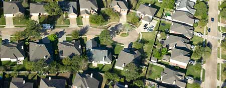 Housing development in Houston (Thinkstock)