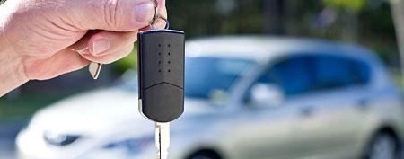 Key to car (Thinkstock)