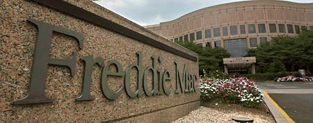 In this July 13, 2008 file photo, Freddie Mac Corporate Office are seen in McLean, Va. (AP Photo/Pablo Martinez Monsivais, file)