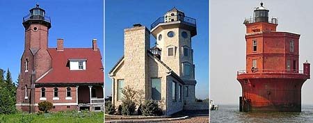 By the sea or in the sea, these lighthouses aren't your typical seaside home (Photos: Zillow)