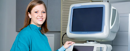 Ultrasound technician (Thinkstock)