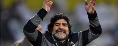 Diego Maradona. Foto: Getty Images