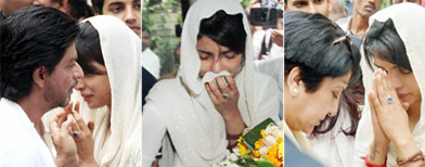 Priyanka's father laid to rest