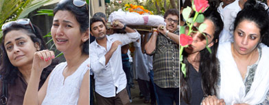 Photographer Jagdish Mali laid to rest