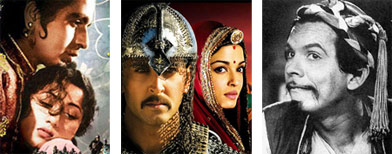 Bollywood's favourite Mughal emperors