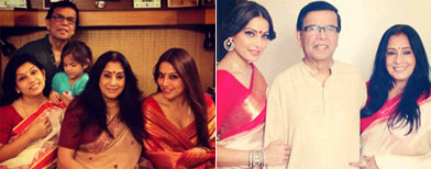 Bipasha's quality time with family