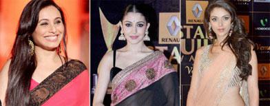 These hot ladies love their saris!