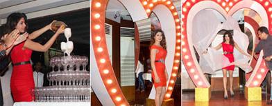 Priyanka's 'bubbly' Badmaash bash