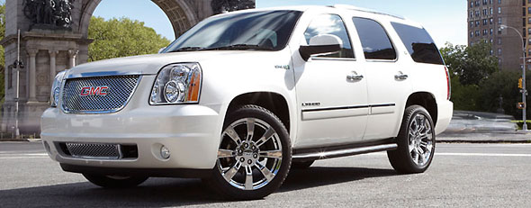 The GMC Yukon Hybrid is among SUVs with the best fuel economy (GMC)