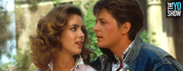 """Back to the Future"" Claudia Wells, Michael J. Fox, 1985 (Universal/courtesy Everett Collection)"