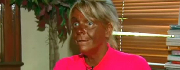 5-Year-Old At Tanning Salon,  What Is This World Coming To?