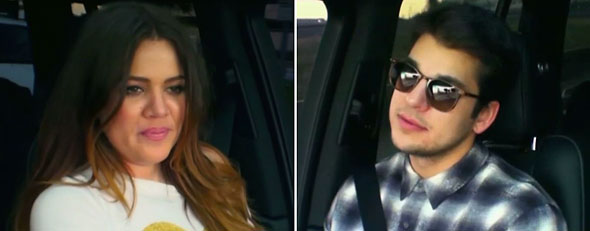 Rob Kardashian is diagnosed with OCD on 'Khloe and Lamar' (Screengrabs)